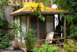 pavillon de jardin zen