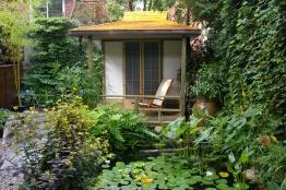 jardin d'eau , jardin zen