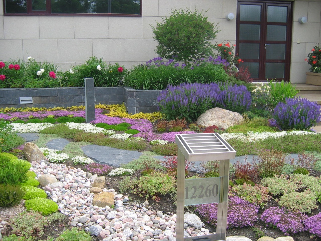 Contemporain les jardins anim s inc - Jardin contemporain et accueillant pour le printemps enidees ...