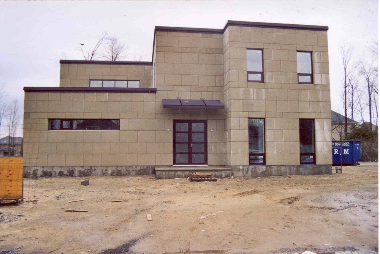 début du projet en printemps 2003