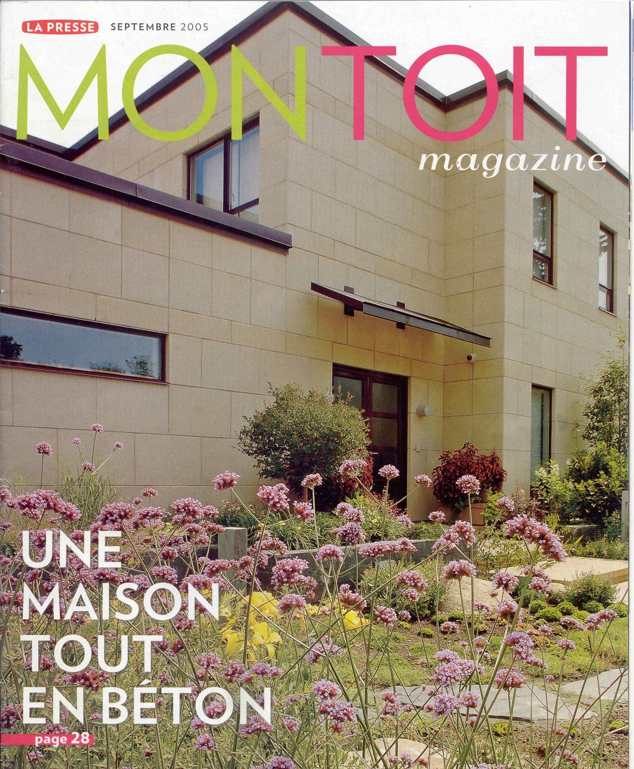 parution cahier habitation - La presse-2005