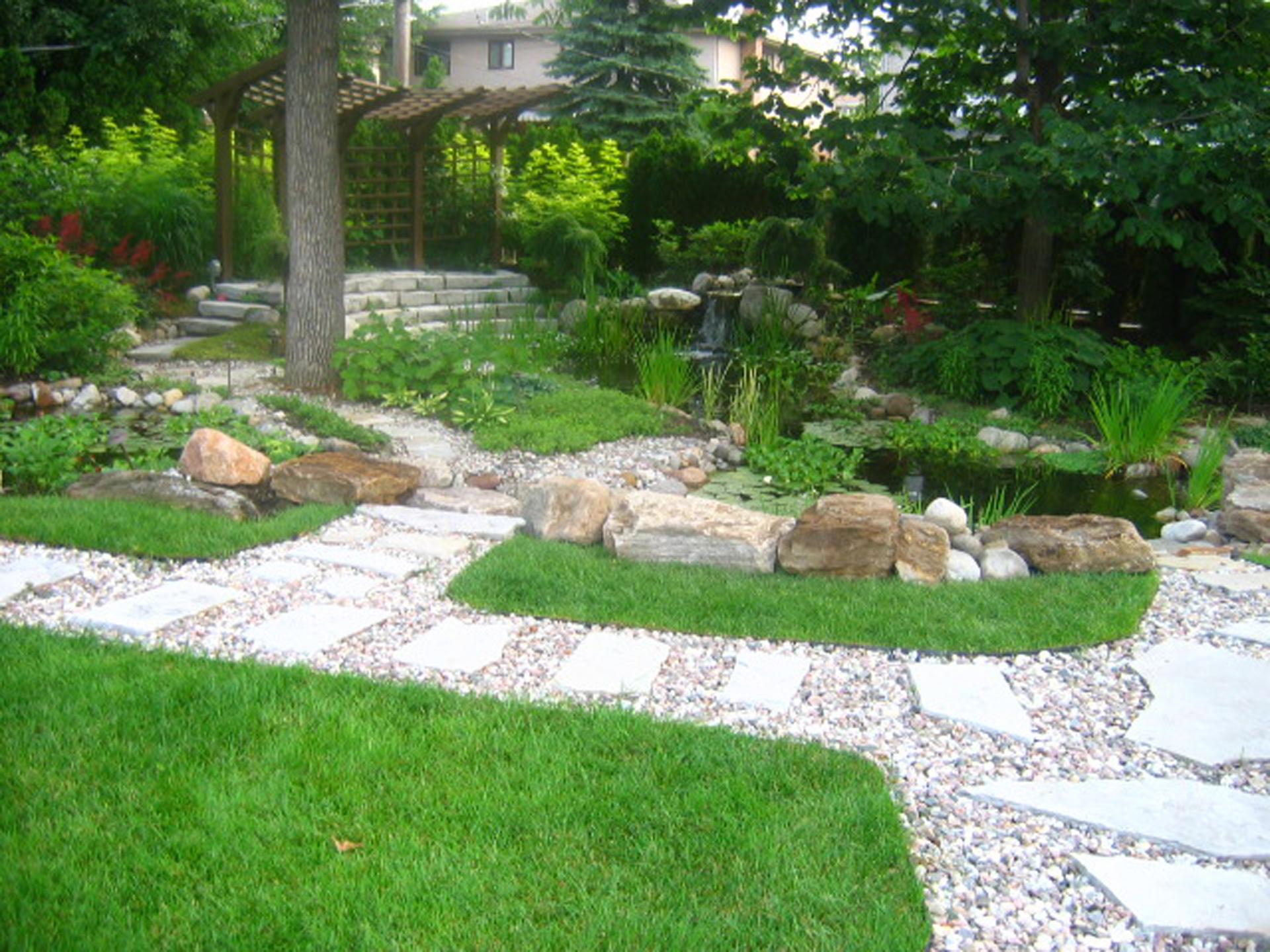 La pierre les jardins anim s inc for Jardin anime