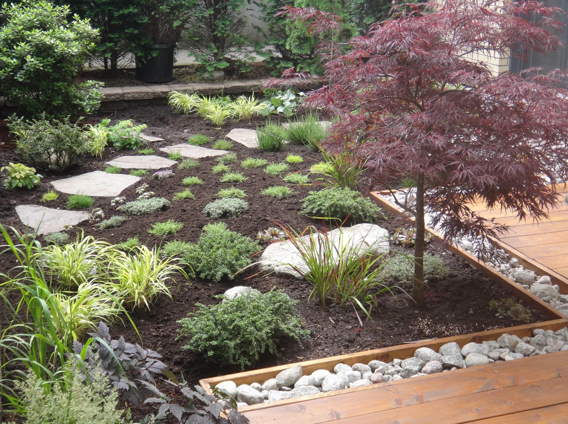 La pierre archives les jardins anim s inc for Bordure de terrasse en galet